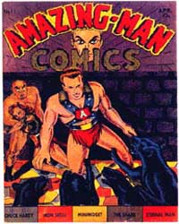 Amazing Man Comics : Issue 11 Volume Issue 11 by Centaur Publishing