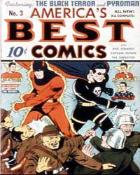 America's Best Comics : Issue 3 Volume Issue 3 by Better/Nedor/Standard/Pines Publications