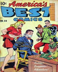 America's Best Comics : Issue 30 Volume Issue 30 by Better/Nedor/Standard/Pines Publications