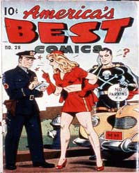America's Best Comics : Issue 28 Volume Issue 28 by Better/Nedor/Standard/Pines Publications