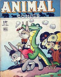 Animal Comics : Issue 11 Volume Issue 11 by Kelly, Walt