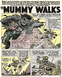 Crazy : The Mummy Walks : Issue 6 Volume Issue 6 by Atlas Comics