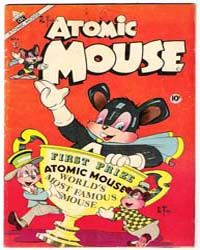 Atomic Mouse : Vol. 1, Issue 4 Volume Vol. 1, Issue 4 by Charlton Comics