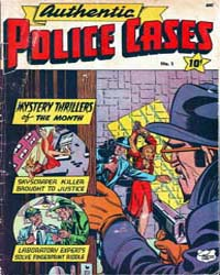 Authentic Police Cases : Issue 1 Volume Issue 1 by St. John Publications