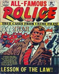 All-Famous Police Cases : Issue 16 Volume Issue 16 by Star Publications