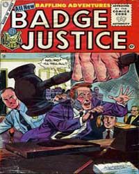 Badge of Justice : Issue 4 Volume Issue 4 by Charlton Comics