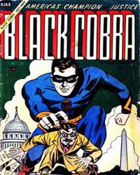 Black Cobra : Issue 1 Volume Issue 1 by Ajax-Farrel Publications