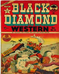 Black Diamond Western : Issue 29 Volume Issue 29 by Lev Gleason Publications