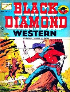 Black Diamond Western : Issue 53 Volume Issue 53 by Lev Gleason Publications