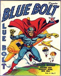 Blue Bolt : Vol. 1, Issue 7 Volume Vol. 1, Issue 7 by Simon, Joe