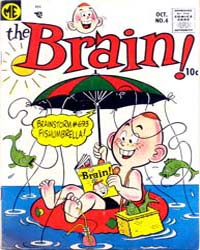 The Brain: Issue 4 Volume Issue 4 by Magazine Enterprises