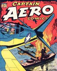 Captain Aero Comics : Issue 17 Volume Issue 17 by Holyoke Publishing