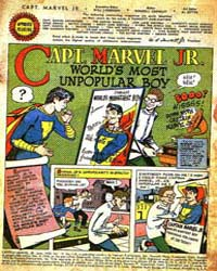 Captain Marvel Jr. : Issue 110 Volume Issue 110 by Fawcett Magazine