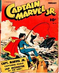 Captain Marvel Jr. : Issue 16 Volume Issue 16 by Fawcett Magazine