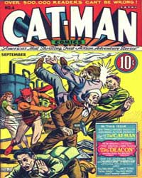 Cat-Man Comics : Issue 4 Volume Issue 4 by Holyoke Publishing