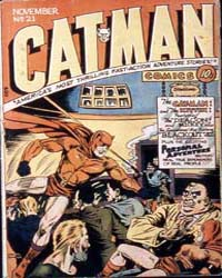 Cat-Man Comics : Issue 21 Volume Issue 21 by Holyoke Publishing