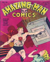 Amazing Man Comics : Issue 16 Volume Issue 16 by Centaur Publishing