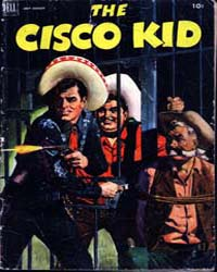 Cisco Kid : Issue 10 Volume Issue 10 by Dell Comics