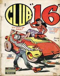 Club 16 : Issue 1 Volume Issue 1 by Eastern Color Printing Company