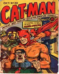 Cat-Man Comics : Issue 20 Volume Issue 20 by Holyoke Publishing