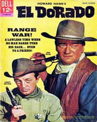John Wayne Adventure Comics : El Dorado by Dell Comics