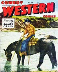 Cowboy Western : Issue 25 Volume Issue 25 by Charlton Comics