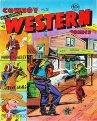 Cowboy Western : Issue 31 Volume Issue 31 by Charlton Comics