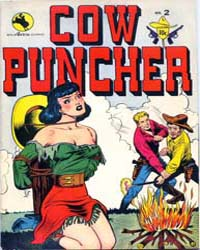 Cow Puncher Comics : Issue 2 Volume Issue 2 by Avon Comics