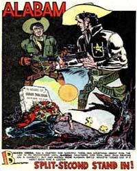 Cow Puncher Comics : Alabam by Kubert, Joe