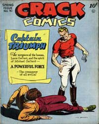 Crack Comics : Issue 41 Volume Issue 41 by Quality Comics