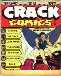 Crack Comics : Issue 21 Volume Issue 21 by Quality Comics