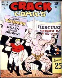 Crack Comics : Issue 55 Volume Issue 55 by Quality Comics