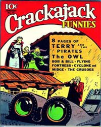 Crackajack Funnies : Issue 43 Volume Issue 43 by Dell Comics