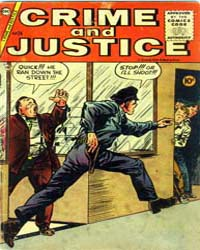 Crime and Justice : Issue 24 Volume Issue 24 by Charlton Comics