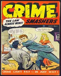 Crime Smashers : Issue 1 Volume Issue 1 by Trojan Magazines