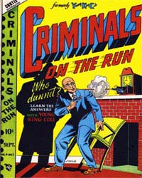 Criminals on the Run : Vol. 4, Issue 2 Volume Vol. 4, Issue 2 by Novelty Press