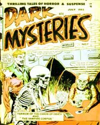 Dark Mysteries : Issue 7 Volume Issue 7 by Story Comics
