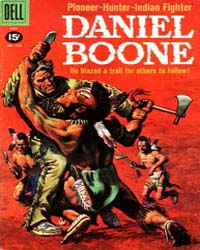 Daniel Boone : Issue 1163 Volume Issue 1163 by Walt Disney