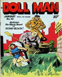 Doll Man Quarterly : Issue 20 Volume Issue 20 by Eisner, Will