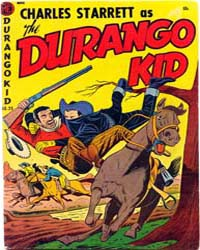 The Durango Kid: Issue 25 Volume Issue 25 by Krank, Raymond