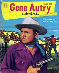 Gene Autry : Issue 49 Volume Issue 49 by Dell Comics