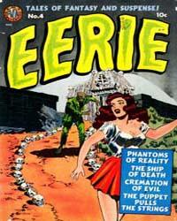 Eerie Comics : Issue 4 Volume Issue 4 by Avon Comics