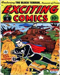 Exciting Comics : Issue 37 Volume Issue 37 by Better/Nedor/Standard/Pines Publications