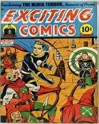 Exciting Comics : Issue 42 Volume Issue 42 by Better/Nedor/Standard/Pines Publications