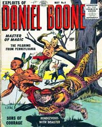 Exploits of Daniel Boone : Issue 4 Volume Issue 4 by Quality Comics