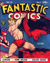 Fantastic Comics : Issue 20 Volume Issue 20 by Fox Feature Syndicate
