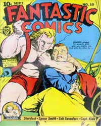 Fantastic Comics : Issue 10 Volume Issue 10 by Fox Feature Syndicate