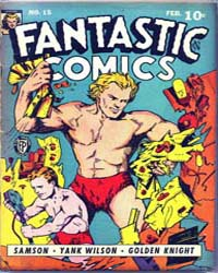 Fantastic Comics : Issue 15 Volume Issue 15 by Fox Feature Syndicate