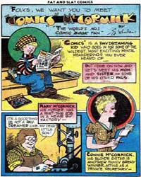 Fat and Slat : Comics Mccormick : Issue ... Volume Issue 1 by Wheelan, Ed