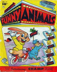 Fawcett's Funny Animals : Issue 77 Volume Issue 77 by Fawcett Magazine